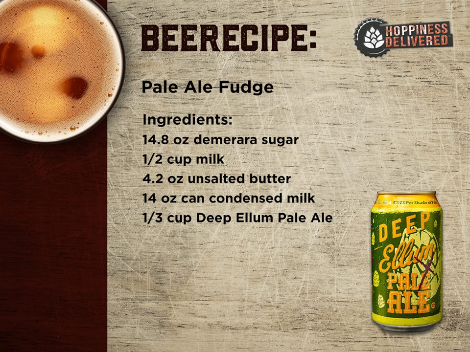 Pale Ale Fudge